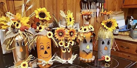 Wine-O Scarecrow Craft Event tickets