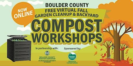 Fall Garden Cleanup & Backyard Compost Workshop tickets