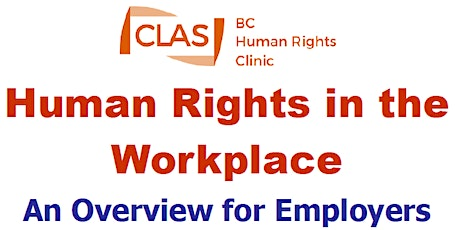 Human Rights in the Workplace: An Overview for Employers tickets