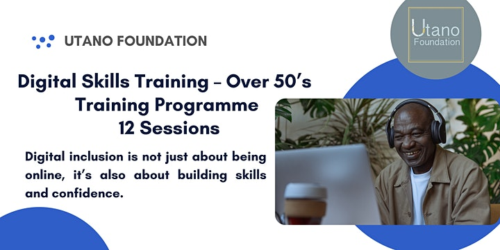 Building Digital Confidence Course - Over 50's Digital Skills Class (BAME) image