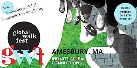 Global Walk Fest — Amesbury, MA (Hybrid) with Mayor Kassandra Gove tickets