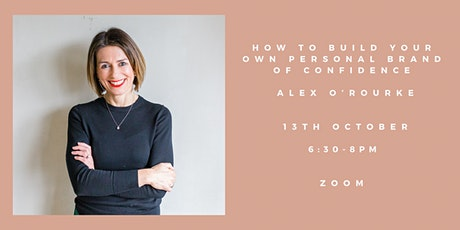 How to Build Your Own Personal Brand of Confidence tickets