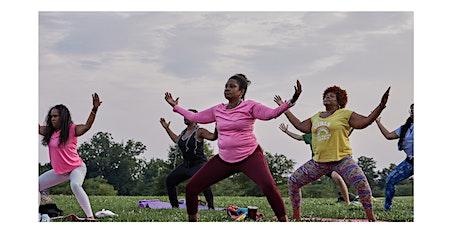 R&B Sunset Yoga at Kanawha Plaza tickets