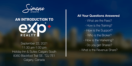 An Introduction to eXp Realty tickets