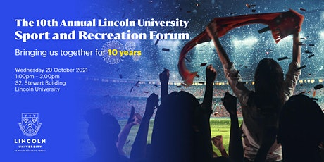 Lincoln University - 10th Annual Sport and Recreation Forum tickets