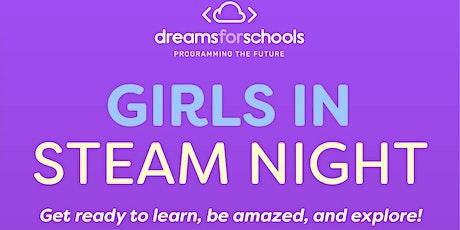 Girls in STEAM Night tickets