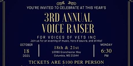 3rd Annual Voice Raiser tickets