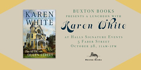 """""""The Attic on Queen Street"""" Author Luncheon tickets"""