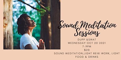Sound Meditation Sessions tickets