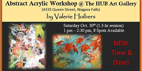 Abstract Acrylic Workshop with Valerie Huibers tickets