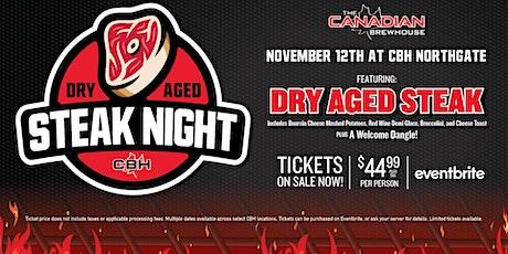 Dry Aged Steak Night (Calgary - Northgate) tickets