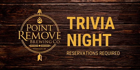 October 7 Point Remove Brewing Company Halloween Trivia Night tickets