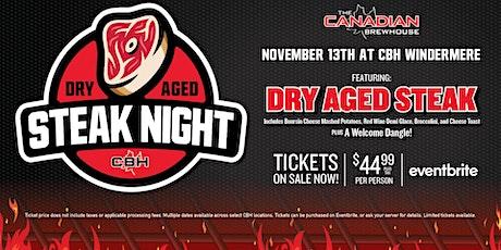 Dry Aged Steak Night (Edmonton - Windermere) tickets