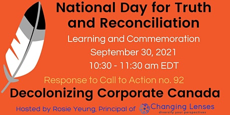 National Day for Truth & Reconciliation Webinar supporting Indigenous orgs tickets