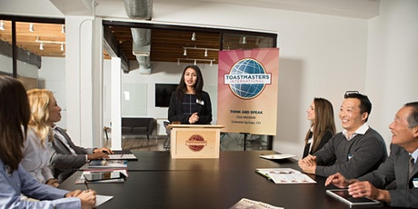 Join our LIVE Toastmasters Meeting and Improve your Public Speaking Skills tickets