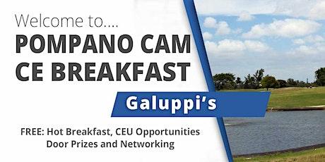 October  2021 CE Breakfast at Pompano Galuppi's tickets