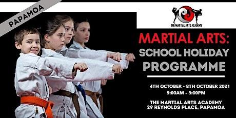 Martial Arts: School Holiday Programme - Papamoa tickets