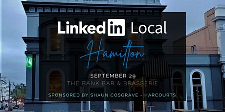 LinkedIn Local Hamilton - Connection and Community tickets