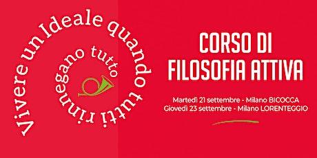Corso di Filosofia Attiva, serata di presentazione in BICOCCA (ore 19:00) biglietti
