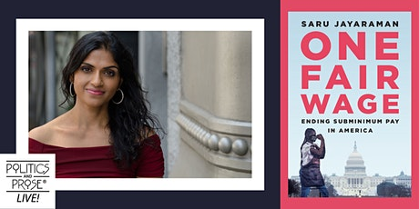P&P Live! Saru Jayaraman | ONE FAIR WAGE - with Jane Black tickets
