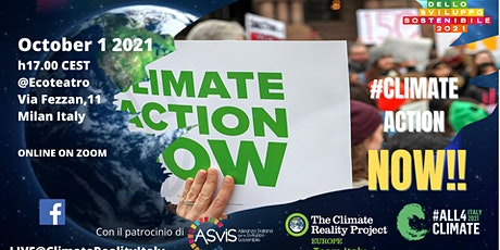 Climate Action Now! - Climate Reality Project EU - TEAM ITALY biglietti
