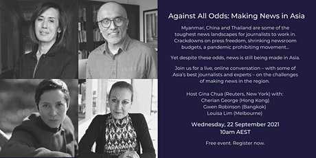 Against All Odds: Making News in Asia tickets