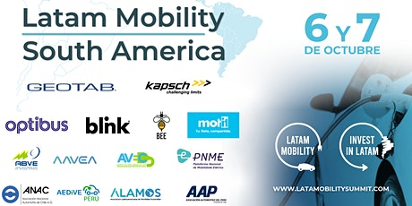 Latam Mobility South America Virtual Summit tickets