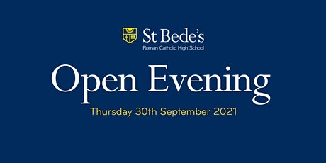Open Evening 2021     4.30pm Arrival tickets