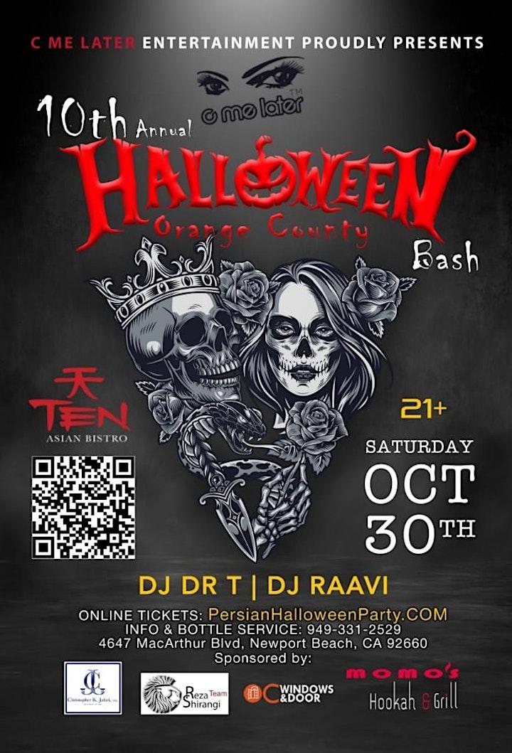 Persian Halloween Party in Newport Beach image