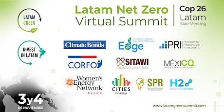 Latam Net Zero Virtual Summit (COP 26 Side-Meeting) tickets