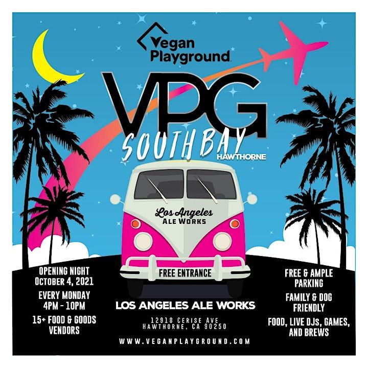 Vegan Playground LA South Bay - Los Angeles Ale Works - October 11, 2021 image