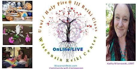 Usui / Holy Fire® III- Reiki I & II  with a LRMT Teacher tickets