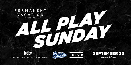 All Play Sunday tickets