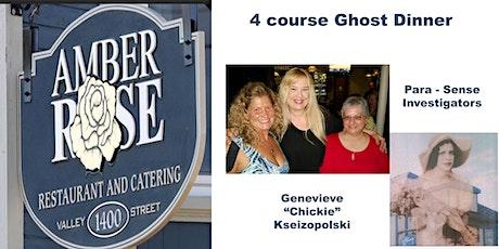 Oct 23rd  Ghost Dinner tickets