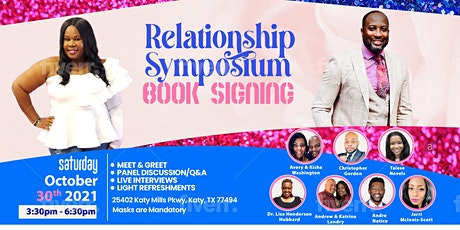 RELATIONSHIP SYMPOSIUM/BOOK SIGNING EVENT tickets