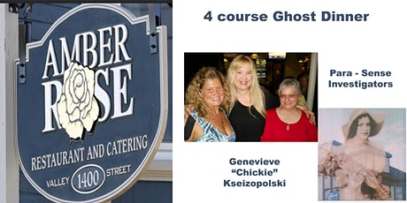 Oct 30th  Ghost Dinner tickets