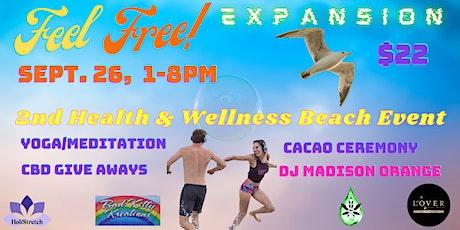 Feel Free Beach Health & Wellness Event tickets