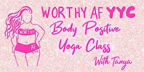 Worthy AF YYC Body Positive Yoga Class tickets