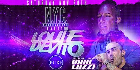 Louie DeVito's N.Y.C. Underground Party feat. Rich Luzzi tickets