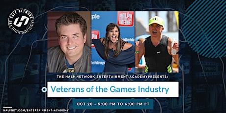 Veterans of The Games Industry: David Collins, Jenn Hale, Darragh O'Farrell tickets