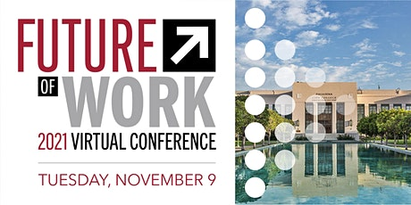 Future of Work Virtual Conference 2021 tickets