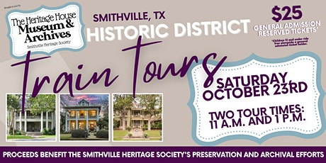 Smithville, TX Historic District Guided Train Tours tickets