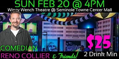 Reno Collier LIVE in Sanford! tickets