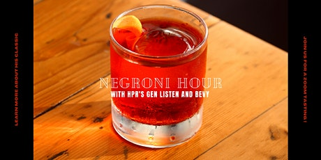 Negroni Hour tickets