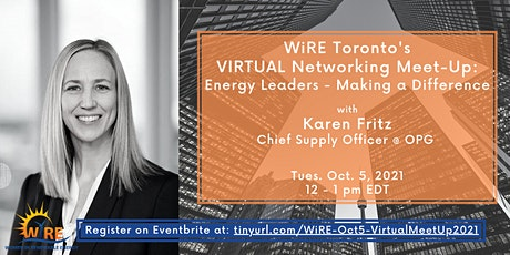 Virtual Networking Meet-Up w WiRE Toronto:  Making a Difference tickets