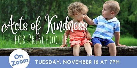 ONLINE: Teacher Training - Acts of Kindness for Preschoolers tickets