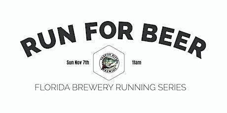Beer Run - Tarpon River Brewing   2021-2022  FL Brewery Running Series tickets