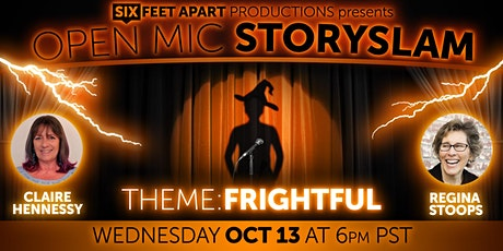"""Open Mic StorySlam! """"Frightful!"""" tickets"""