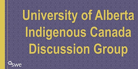Indigenous Canada Discussion Group Week 2 tickets