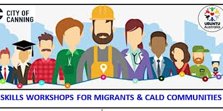 Job skills workshops with Ubuntu Australia tickets